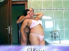 Mature couple Olga