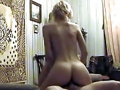 Fucked this Blonde Cheating Wife while husband is at work