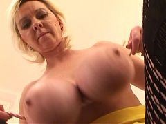 My fave big tit mature blonde 5