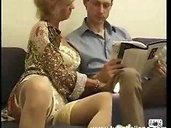 Moglie bionda inculata anal