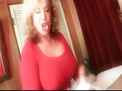 Granny Handjob #4 Dirty Talking 'Such a Good Errand Boy'