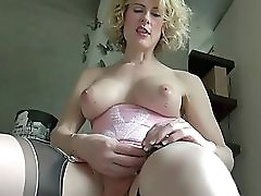 Milf Shemale Delia Enjoying Herself