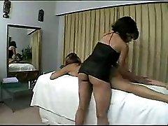 Sensual Lesbian Massage