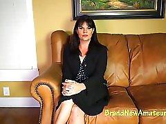 Mature McKayla auditions for BrandNewAmateurs