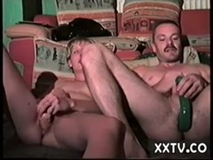 Mature couple double Anal