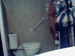 Horny Fat BBW GF masturbating her pussy in her shower