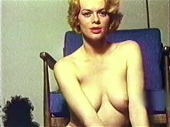COME TO ME SLOWLY vintage mature blonde music video