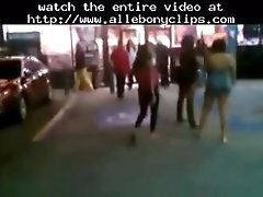 Ebony girls fight at gas station in florida black ebony