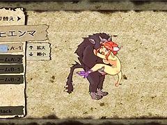 Some monster girl game i found