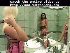 Sandra parker & vanessa hill bdsm bondage slave fem
