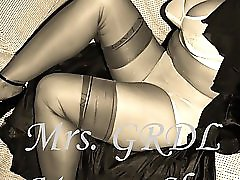 Mature Slut Teases in Retro Lingerie slideshow