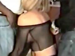 Cuckold wife fucked hard and screams