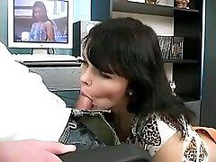 Adorable Dark Hair Teen Girl gets Juicy Creampie