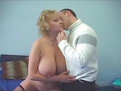 Amazing big tits milf