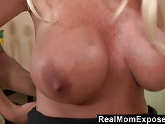 RealMomExposed Busty Milf Picked Up At The LaundroMat And