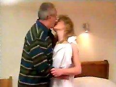 Grandpa fuck young woman