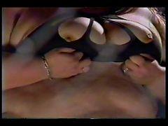 FOUND FOOTAGE VHS clip of a SSBBW stripper No Sound