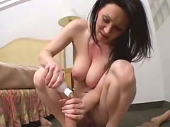 A Wife rides Hubby Anally