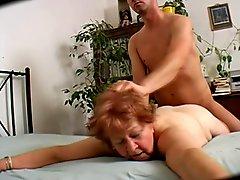 Big Butt Curvy Granny 69