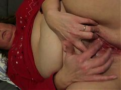 Anja Rubbing Her Little Clit