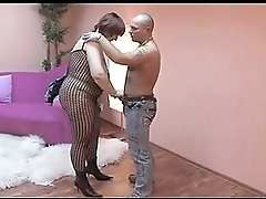 A Russian Amateur BBW Milf in Action