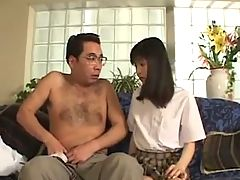 Avmostc om Japanese schoolgirl fucked and cum laoded to pass her subject