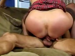 Horny mature Lisa squirts while fucked