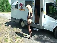 Mature Trailer park wife get fucked
