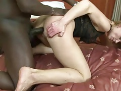 Sexy MILF takes anal by BBC