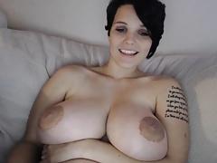 Gorgeous Boobs Girl Webcam Show