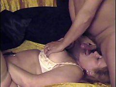 Whipping very horny granny