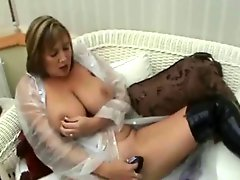 British milf with with new toy