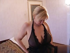Russian Blonde mom next door