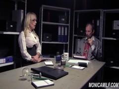 MonicaMilf fucking 4 wellfare Norsk porno parody