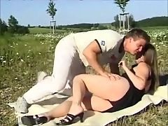 Hot German Couple Outdoor