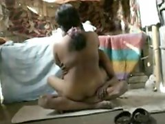 Desi indian couple fucking in a shack
