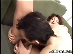 Mature arabic woman with a bush