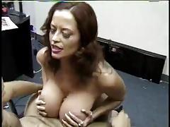 Donita long nails titjob and suck