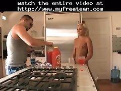 Nude in kitchen teen amateur teen cumshots swallow dp a