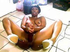 Nasty Ebony MILF