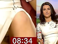 Susanna Reid BEST downblouse and upskirt compilation
