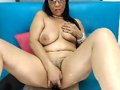 Hot 50 year old Latina mom rides your dick POV webcam