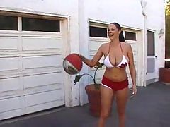 Gianna michaels basketball