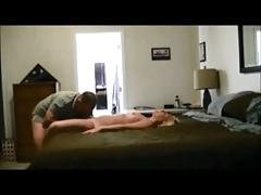Blonde milf on real hiddencam