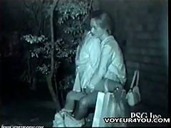 Young Couples Secret Shot Outdoor Sex