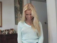 Hot Blonde Quickie