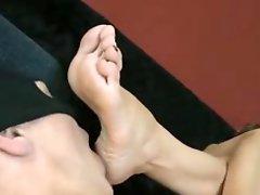 Mature Foot Worship
