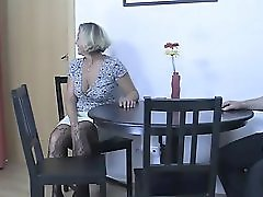 Her BF drunk and she fucks his family