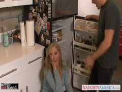 Blondie Julia Ann gets nailed and facialized