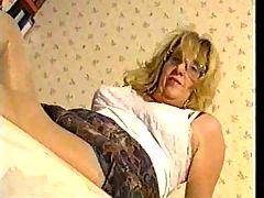 Lady in girdles